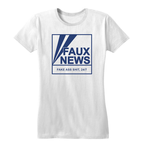 Faux News Women's Tee