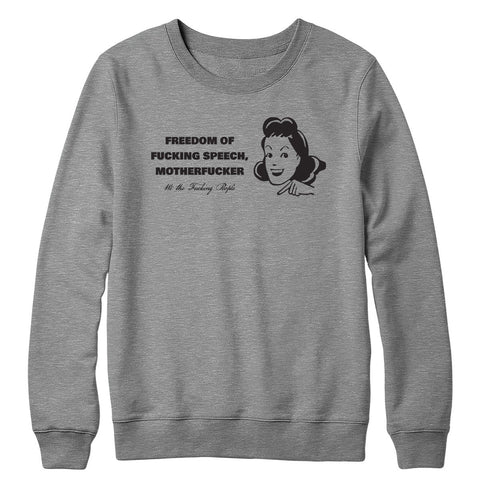 Freedom of Speech Crewneck