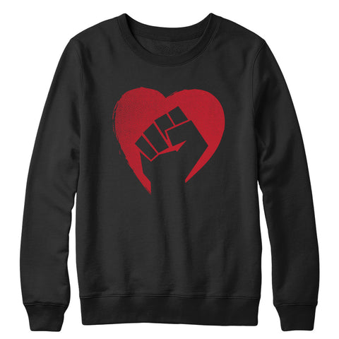 Hearts and Fists Crewneck