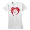 Hearts and Fists Women's Tee [Free Code: heartsandfists]