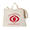 Not Knowing Tote Bag