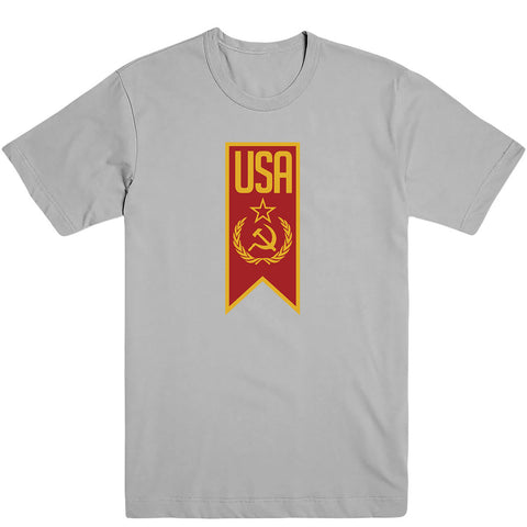 Red USA Men's Tee
