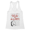 The wall was all a dream Women's Racerback Tank