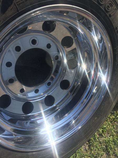 aluminum polishing rims