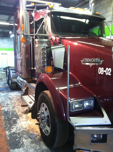 Kenworth polished stainless