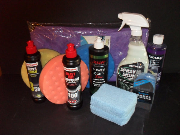 DC Super Shine Paint Correction Kit