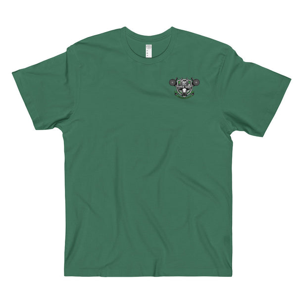 DC Super Shine Men's T-Shirt _Green Logo