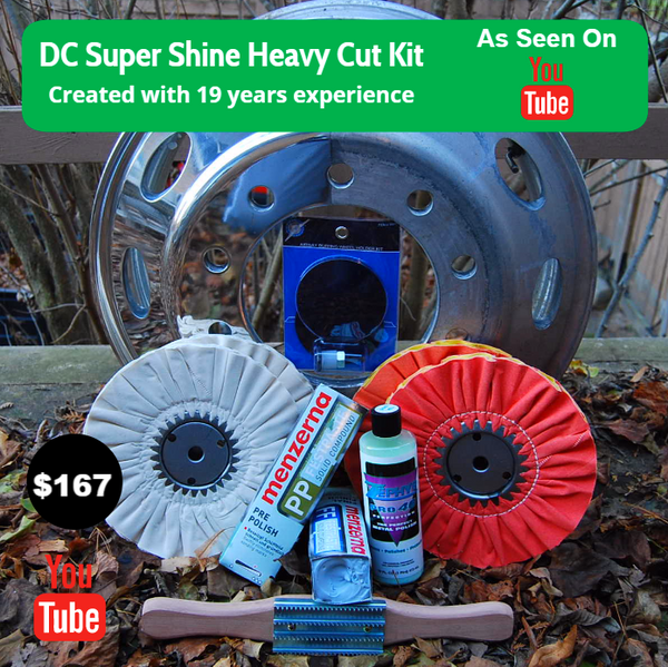 Dc Super Shine Heavy Cut Aluminum Polishing Kit