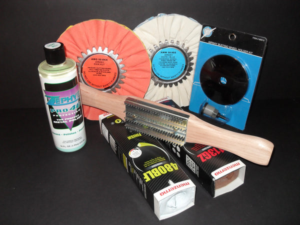 DC Super Shine Standard aluminum polishing kit