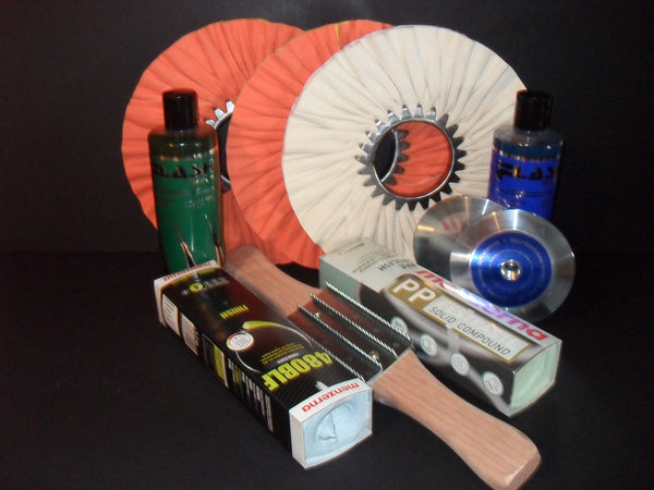 aluminum polishing kit