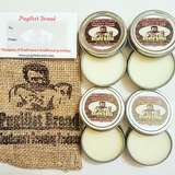 Beard Balm Kit Bag: Four Scent Selection - Pugilist Brand - Beard Care, Mustache Wax & Gentlemen's Grooming Products - 1
