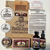 Beardsman's Bundle Beard Care Kit - Pugilist Brand - Beard Care, Mustache Wax & Gentlemen's Grooming Products - 1