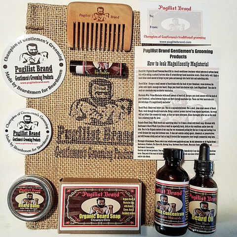 Beardsman's Bundle Beard Care Kit