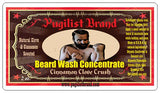 Beard Wash Concentrate - Cinnamon Clove Crush - Pugilist Brand - Beard Care, Mustache Wax & Gentlemen's Grooming Products - 2