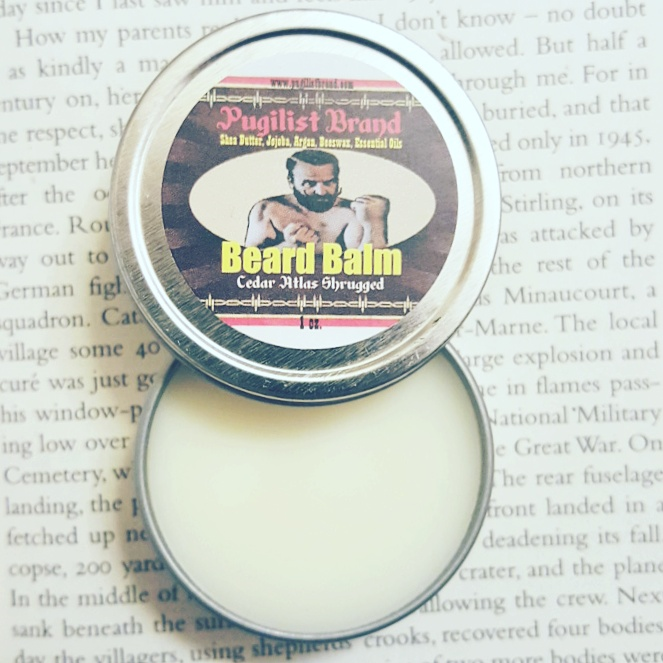 Beard Balm - Cedar Atlas Shrugged - Pugilist Brand - Beard Care, Mustache Wax & Gentlemen's Grooming Products - 1