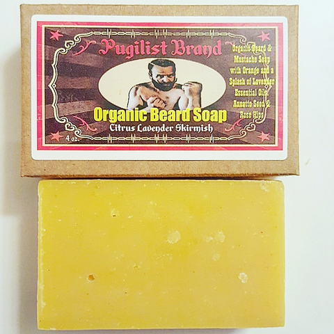 Organic Beard Soap - Citrus Lavender Skirmish