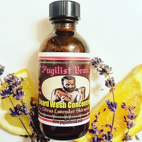Beard Wash Concentrate - Citrus Lavender Skirmish