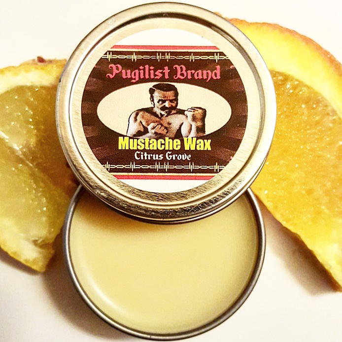 Mustache Wax - Citrus Grove - Pugilist Brand - Beard Care, Mustache Wax & Gentlemen's Grooming Products - 2