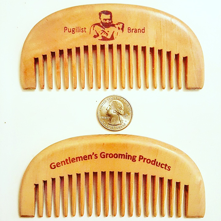 Gentleman's Classic Beard Comb - Pugilist Brand - Beard Care, Mustache Wax & Gentlemen's Grooming Products