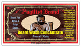 Beard Wash Concentrate - Forest Rain - Pugilist Brand - Beard Care, Mustache Wax & Gentlemen's Grooming Products - 2