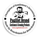 Pugilist Brand Gentlemen's Grooming Products Vinyl Stickers - 3 Pack - Pugilist Brand - Beard Care, Mustache Wax & Gentlemen's Grooming Products - 1