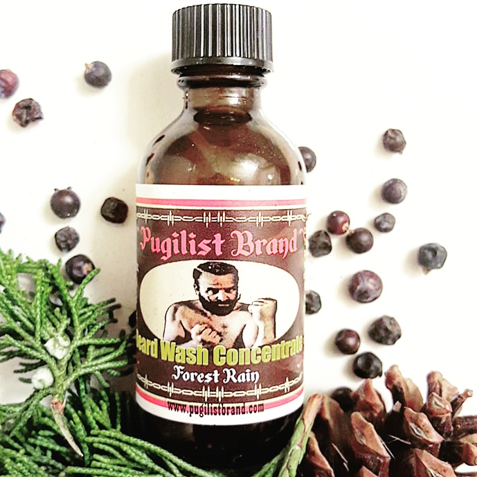 Beard Wash Concentrate - Forest Rain - Pugilist Brand - Beard Care, Mustache Wax & Gentlemen's Grooming Products - 1