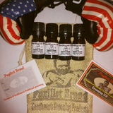 Pre-Shave Oil K.O. Sampler Pack - Pugilist Brand - Beard Care, Mustache Wax & Gentlemen's Grooming Products - 2