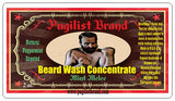 Beard Wash Concentrate - Mint Melee - Pugilist Brand - Beard Care, Mustache Wax & Gentlemen's Grooming Products - 2