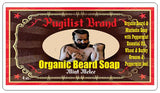 Organic Beard Soap - Mint Melee - Pugilist Brand - Beard Care, Mustache Wax & Gentlemen's Grooming Products - 5