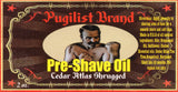 Pre-shave Oil - Cedar Atlas Shrugged - Pugilist Brand - Beard Care, Mustache Wax & Gentlemen's Grooming Products - 2