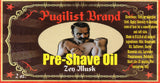 Pre-shave Oil - Zen Musk - Pugilist Brand - Beard Care, Mustache Wax & Gentlemen's Grooming Products - 3