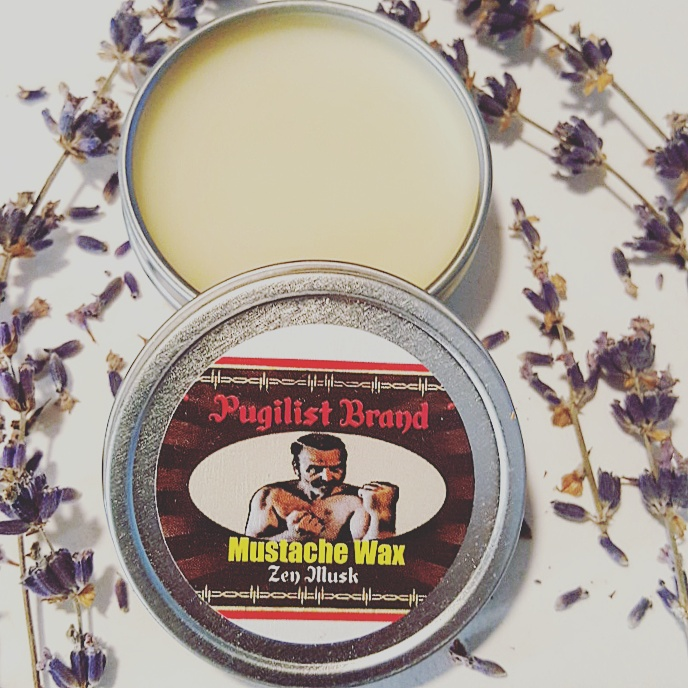 Mustache Wax - Zen Musk - Pugilist Brand - Beard Care, Mustache Wax & Gentlemen's Grooming Products - 2