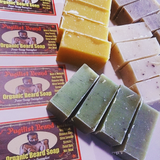 Organic Beard Soap - Four Soap Sampler - Pugilist Brand - Beard Care, Mustache Wax & Gentlemen's Grooming Products - 2