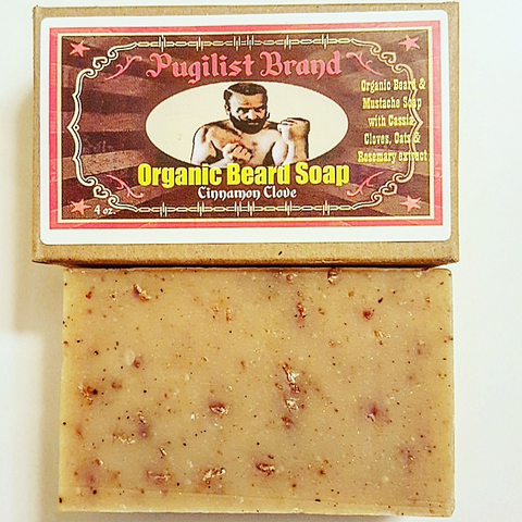 Organic Beard Soap - Cinnamon Clove