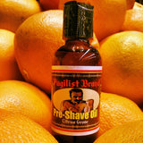 Pre-shave Oil - Citrus Grove - Pugilist Brand - Beard Care, Mustache Wax & Gentlemen's Grooming Products - 2