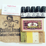 The Six Pack : Beard Oil & Soap Sample Kit - Pugilist Brand - Beard Care, Mustache Wax & Gentlemen's Grooming Products - 1
