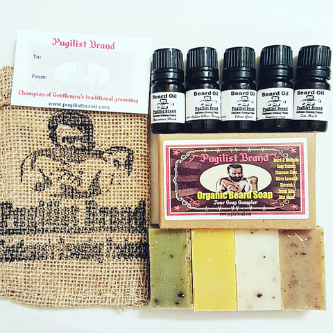 The Six Pack : Beard Oil & Soap Sample Kit