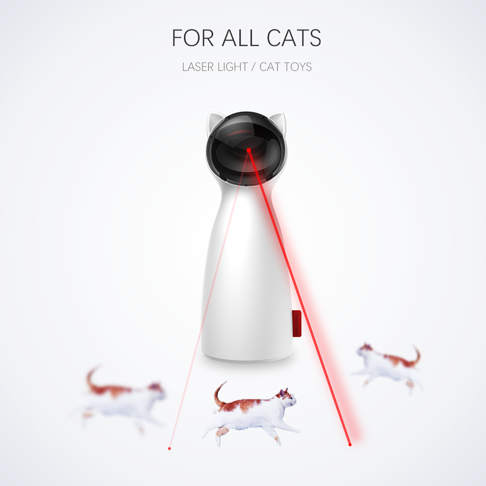 Cat Automatic LED Laser Toy