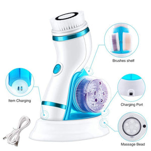 Electric 4 IN 1 Cleansing Brush