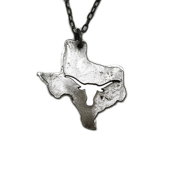 Necklace - Pewter Texas