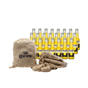 24 Coronitas 210 ml + hamaca Corona