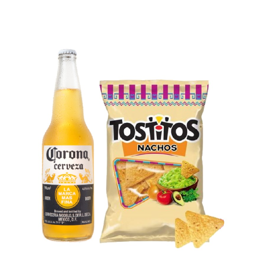Corona 710ml + Tostitos