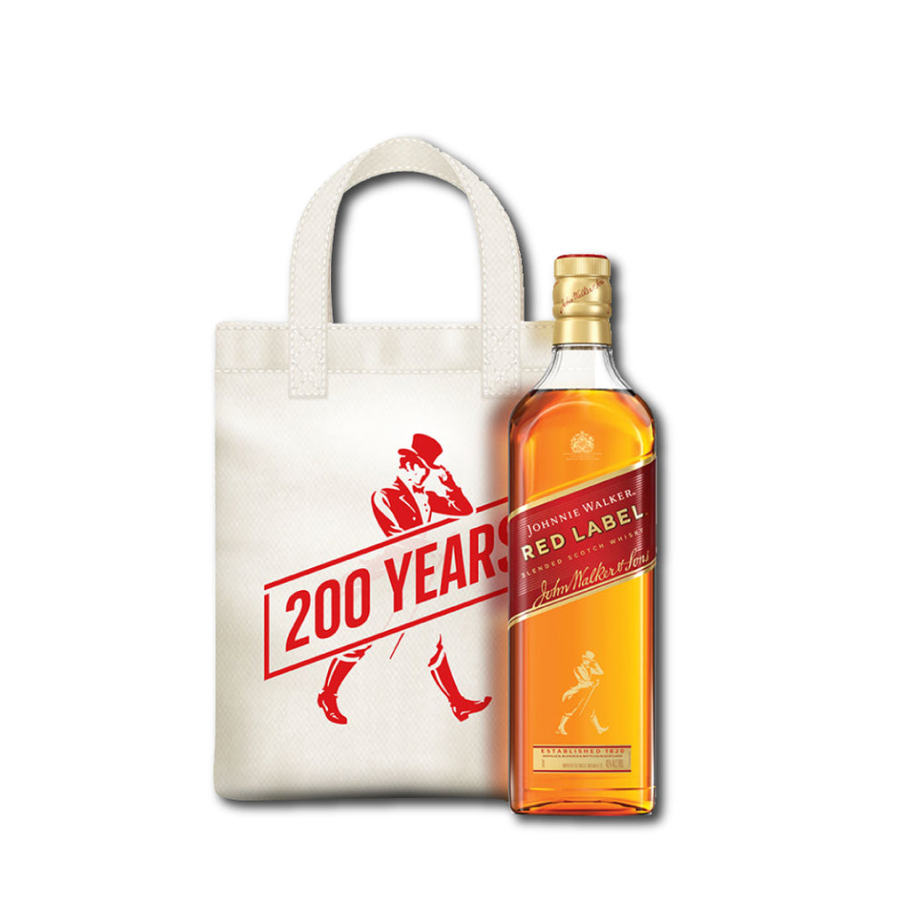 Johnnie Walker Red Label 1L+Bolsa 200 años de regalo