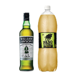 1 William Lawson´s 1L + 1 Paso de los Toros Pomelo 2.5L