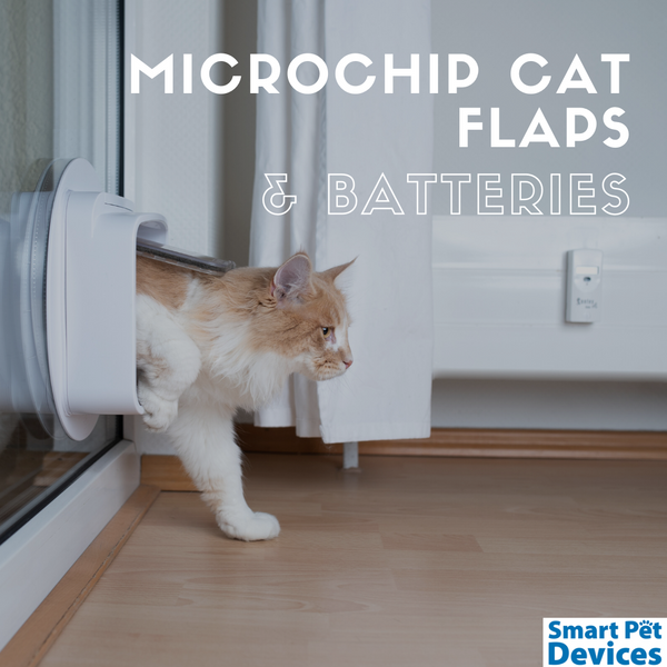 Microchip Cat Flap, Batteries Not Included