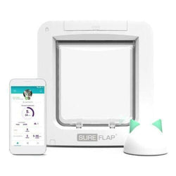 SureFlap Microchip Pet Door Connect With Hub Bundle - App Controlled Cat Flap - Cat Out Of House.co.uk