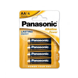 Panasonic AA Batteries Alkaline Power - Pack of 4- Batteries Not Included.