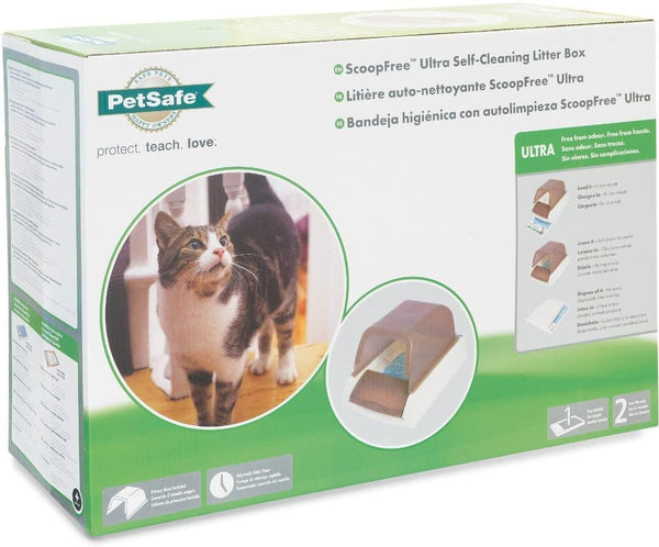 PetSafe Scoop Free Ultra Self-Cleaning Litter Box for Cats - Cat Out Of House.co.uk
