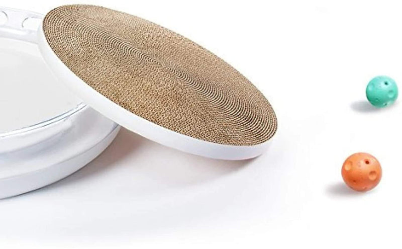 Petkit - 4 in 1 Cat Scratcher - Cat Out Of House.co.uk