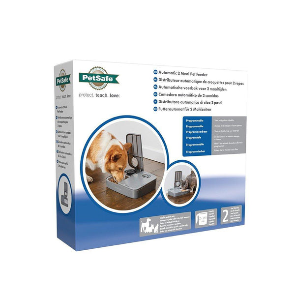 Petsafe Automatic 2 Meal Pet Feeder - Cat Out Of House.co.uk